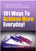 101 Ways To Achieve More Every Day!