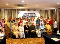 A group photo with course particpants from Lembaga Hasil Dalam Negeri - 2014